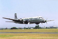 Air Atlantique Douglas DC-6 G-APSA at Coventry Airport UK  Postcard