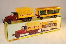 Dinky Toys 881 Camion Pinder with cage very near mint in box condition - superb