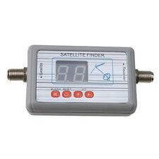 Satlink WS-6903 Digital Satellite Signal Finder Directv Meter LCD Buzzle for TV