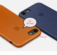 iPhone 8/7/SE 2020, 8/7 Plus Apple Echt Original Leder Schutz Hülle Case Cover