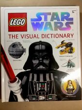Lego Star Wars The Visual Dictionary & Luke Skywalker Exclusive Minifig LIKE NEW