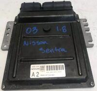 2003 Nissan Sentra 1.8L A/T ECU ECM Engine Control Module | A56-V06 BS0 | 9657