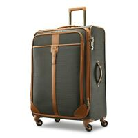 """$820 New Hartmann Luxe 29"""" Long Journey Expandable Spinner Luggage Brown"""