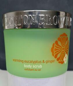 Molton brown warming eucalyptus & ginger body scrub