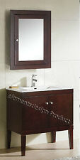 """30"""" Bathroom Vanity 30-inch Cabinet integrated Sink Faucet med cabinet Fdct"""