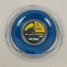 Yonex Poly Tour Pro 130 16 Gauge string 660ft/ 200m Reel Blue