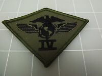 BRAND NEW U.S. Marine Corps USMC 4TH Air Wing Division SUBDUED Patch 3 3/4""