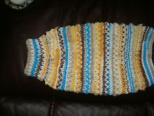 Hand Knitted 10 Inch Jumper/Coat for Small Dog/Cat/Puppy Chihuahua Yorkie