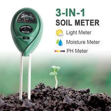 3-In-1 Soil Tester PH Moisture Light Test Meter Detetcor For Garden Plant Flower