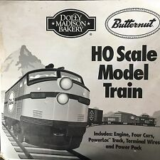 Butternut Bread Dolly Madison 1982 HO Scale Model Train Set