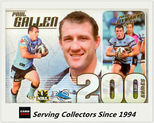 Select NRL Limited Edition Case Card: 2012 NRL Dynasty CC29 Paul Gallen