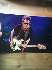 Glenn Hughes original hand signed autograph 8 x 12 photo  IP