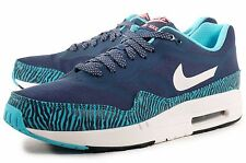 Nike Air Max 1 PRM TAPE Brave Blue & Summit Whit Sz 9 599514-410 Mens