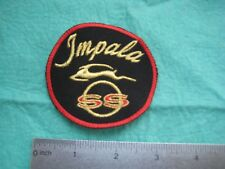 Chevrolet Impala SS Gold Uniform Hat Patch