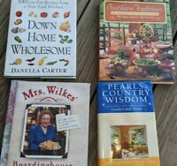 Lot 4 Cookbooks Country Living Southern Food Hospitality Pearls of Wisdom Season