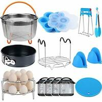 15 Pieces Pressure Cooker Accessories Set Compatible with Instant Pot Accessorie