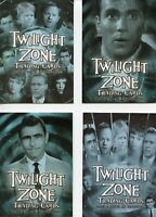 Twilight Zone 4 Science and Superstition Promo Card Lot 4 Cards