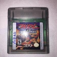 WDL World Destruction League: Thunder Tanks (Nintendo Game Boy Color) Vr Nice!