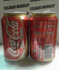 COCA COLA SANS CAFEINE 33 cl COCA COLA ENTERPRISE FRANCE EMPTY CAN lata vacia
