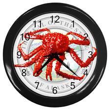 New Alaskan King Crab Emperor Crab Wall Clock rare!