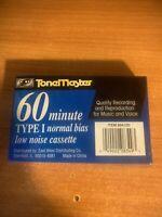 ToneMaster 60 Minute Type 1 Normal Bias Low Noise Cassette