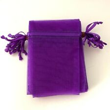Organza Gift Pouches, Bags, Wedding, Favour, Party, Luxury Quality 10 x 7 cm