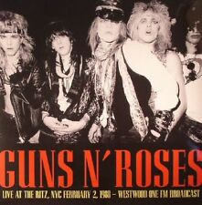 GUNS N ROSES Live At The Ritz NYC February 2 1988 LP Westwood One FM Broadcast