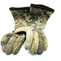 Red Head Camo Hunting Gloves Mens Large Neoprene Waterproof