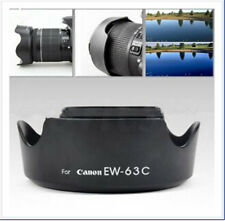 New EW-63C Camera Lens Hood Shade For Canon EF-S 18-55mm f/3.5-5.6 IS STM