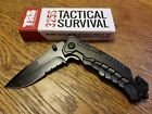 TRS 325S Tactical Survival Knife ~ New in Box ~ FREE SHIPPING ~