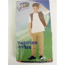 Boys Victorian Urchin Costume - Fancy Dress Set Book Week Kids Waistcoat Smiffys