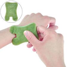 Gua Sha facial massage chinese medicine natural jade board scraping tool UP