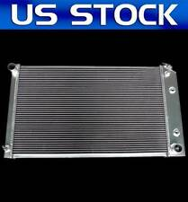 JDN Racing 3 ROWS FIT Chevy Caprice Pickup Truck ALUMINUM RADIATOR