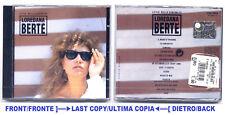 BERTÉ - LE PIÙ/PIU' BELLE CANZONI DI LOREDANA BERTE' - CD 1993 NUOVO SIGILLATO