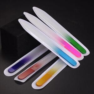 Crystal Glass Nail Buffer Grinding Polishing Nail File Nail Sanding Sandpaper