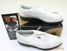 Vintage Footjoy Dryjoys Tour Mens Golf Shoes 53615 13 M