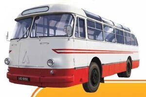 LAZ 695E -- BUS -- 1/72 -- IXO/IST -- NEW