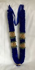 Indian Bollywood  (asian)Artificial Flowers wedding garlands Royal Blue And Gold
