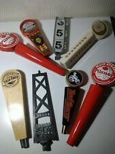 More details for 8 x canadian beer tap handles bundle mancave home pub