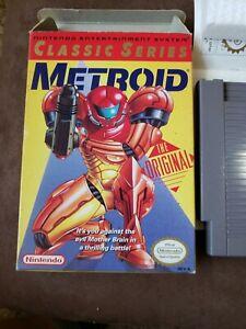 Metroid Nintendo NES MINT Complete In Box CIB Authentic US Original W/ Manual