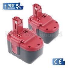 2X 24V Cordless Drill Battery For Bosch GBH24VF BAT031 BAT030 Ni-MH 24Volt 3.0Ah