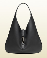 Gucci Women s Jackie Soft Leather Hobo Bag, Black, MSRP  3,190 720bb4d319