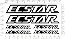 Ecstar Laminated Stickers Moto GP Sponsor Motorcycle Suzuki Quality Decals Set