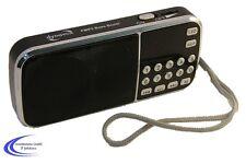 Dynavox tragbares mini UKW Radio mit USB MP3 Player - FMP3 Bass Boost MP3-Radio