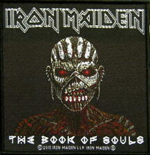 IRON MAIDEN PATCH / AUFNÄHER # 54 THE BOOK OF SOULS - 10x10cm