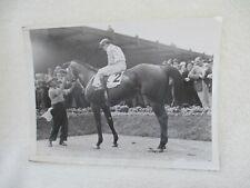 ORIGINAL 1939 PRESS PHOTO Derby Winner *JOHNSTOWN*  Dwyer Stakes Win