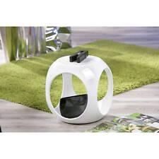 Beistelltisch weiß hochglanz Wohnzimmertisch Beistell Tisch Nachttisch Design