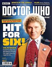 Doctor Who Magazine #489 Colin Baker Malcolm Hulke Ellis George Monster Peladon