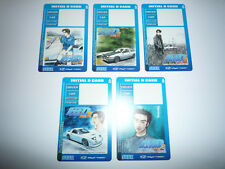 *Lot Of 5* Sega Initial D2 Arcade Stage Save Cards (Sega Naomi2)