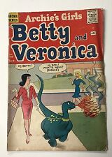 Archie's Girls Betty and Veronica #70 Dragon Cover Riverdale 10 Cent Comic 1961
